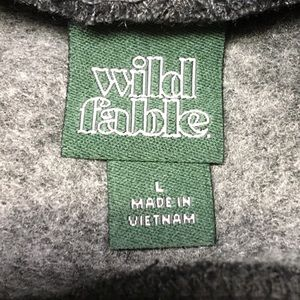 wild fable Tops - WILD FABLE Gray Cropped Sweatshirt ~ Large